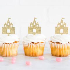Princess Castle Cupcake Topper