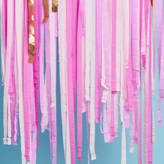 Streamers, Pink Shimmer