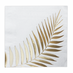 Gold Leaf Napkins, Large