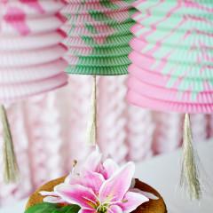 Lanterns, Pink