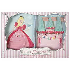 I'm a Princess Invite and Thank you Card Set