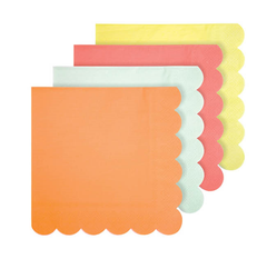 Neon Party Napkins, Small