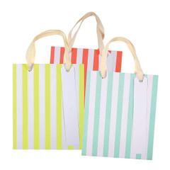 Neon Stripy Bags