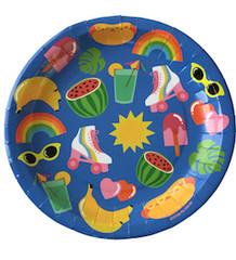 Summer Fun, Plates