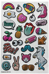Pop Art Sticker Sheet