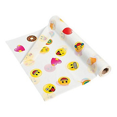 Vinyl Emoji Tablecloth Roll