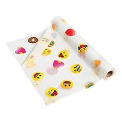 Vinyl Emoji Tablecloth Roll