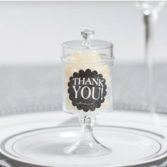 Mini Pedestal Candy Container
