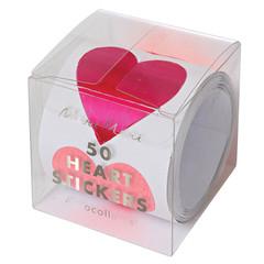 Heart Sticker Roll