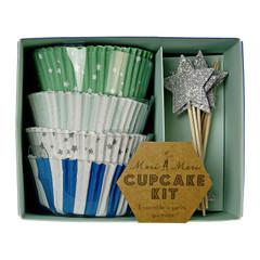 Toot Sweet Blue Cupcake Kit