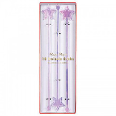 Iridescent Glitter Swizzle Sticks
