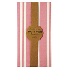Toot Sweet Pink Tablecloth