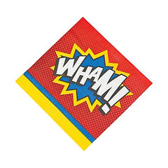 Super Hero Lunch Napkins