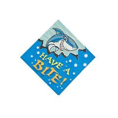 Shark Party,  Beverage Napkins