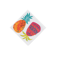 Pineapple Party Beverage Napkins