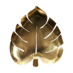 Gold Palm Leaf, Plates