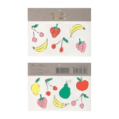 Tattoos, Foil Neon Fruit