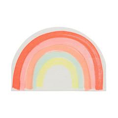 Rainbow Napkins, Die-Cut