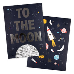 Art Prints, To the Moon