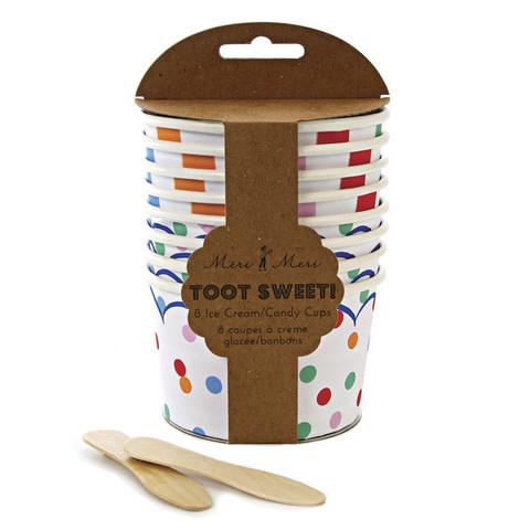 Toot Sweet Treat / Ice Cream Cups
