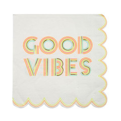 Good Vibes Napkins, Large