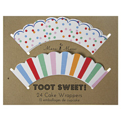 Toot Sweet Cake Wrappers