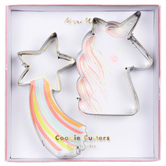 Unicorn and Star Cookie Cutters