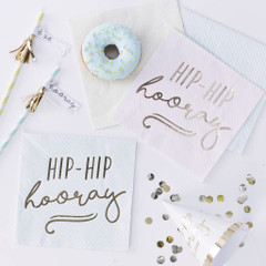Hip, Hip, Hooray Napkins