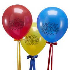 Super Hero Balloons