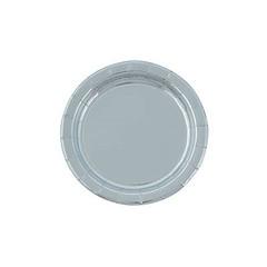 Silver Foil Plates, Small