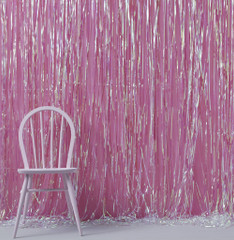 Fringe Curtain, Iridescent