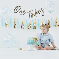Cake Smash Kit, Blue