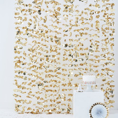 Gold Petal Backdrop