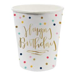 Happy Birthday Confetti, Cups