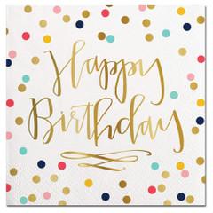 Happy Birthday Confetti, Napkins