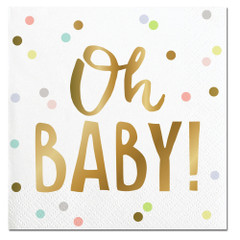 Oh Baby Confetti Napkins