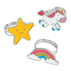 Unicorn & Rainbow Rings
