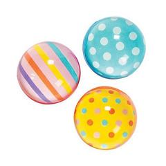 Bouncy Balls, Dots & Stripes