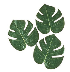 Tropical Leaves, 12 pieces