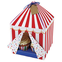 Toot Sweet Small Tented Cake Box