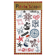 Ahoy There Pirate Temporary Tattoos