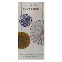 Toot Sweet Decorative Pinwheels