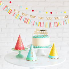 Bright & Happy Party Hats