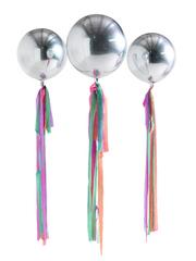 Pastel Rainbow Orb Balloons