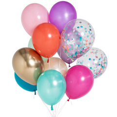Pastel Rainbow Super Balloon Set