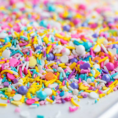 Mini Bottle: Gourmet Sprinkles, Spring Parade Sprinkle Medley
