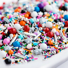 Mini Bottle: Gourmet Sprinkles, Glam Rock Twinkle Sprinkle Medley
