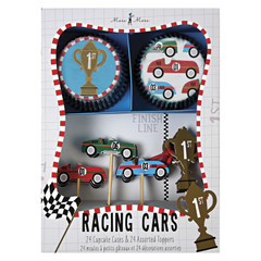 Racing Cars Cupcake Kit