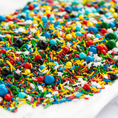Mini Bottle: Gourmet Sprinkles, Comic Book Sprinkle Medley