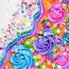 (Cake shown by Rachel Fujihara @frostedfujicakes)